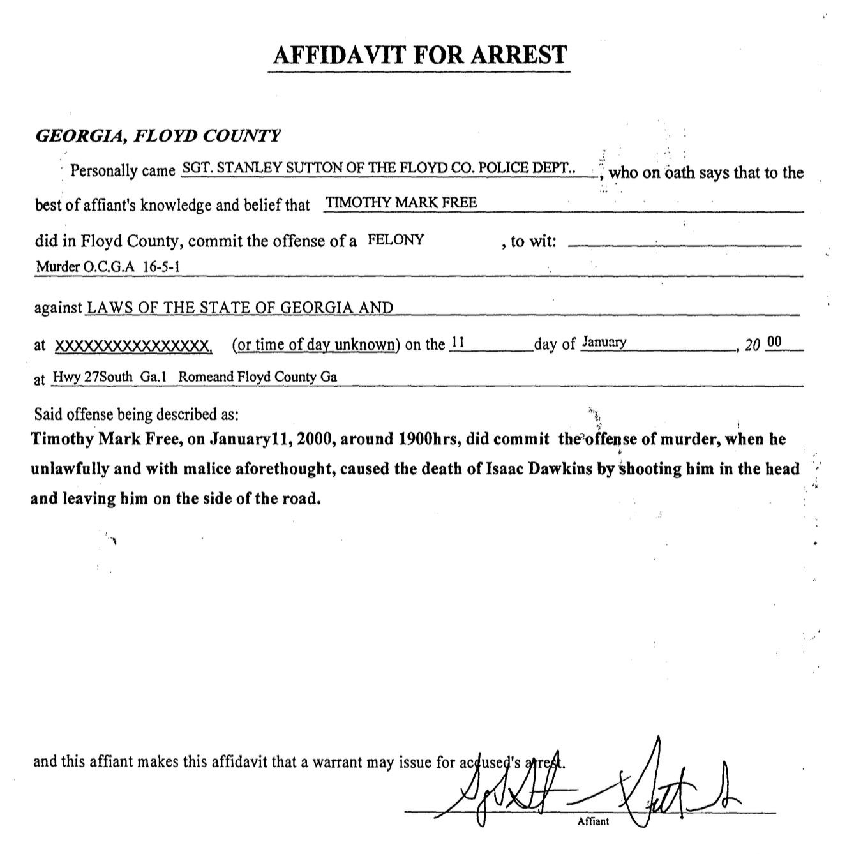 Episode Documents  Free Affidavit